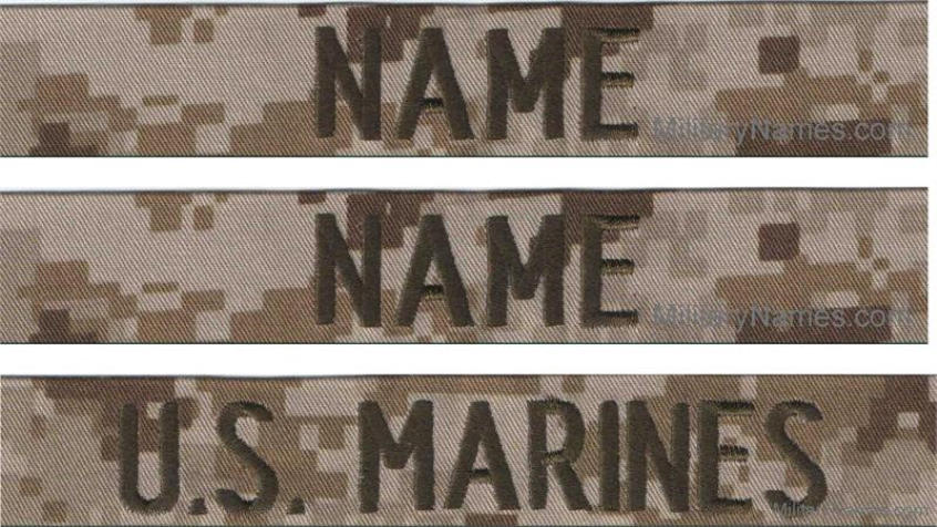 U S  Marine Name Tapes | Checkout with Military Names Secure